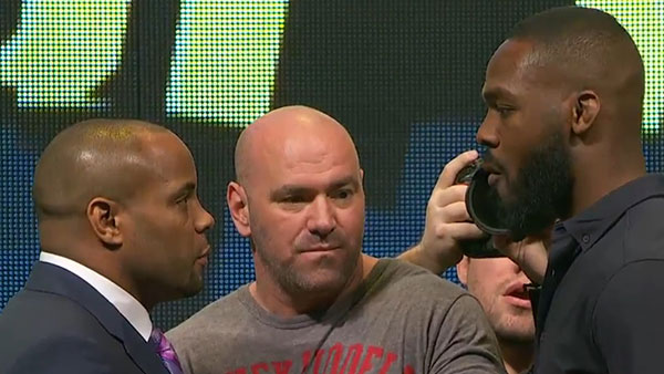 Daniel Cormier contre Jon Jones