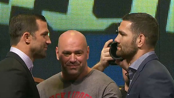 Luke Rockhold contre Chris Weidman