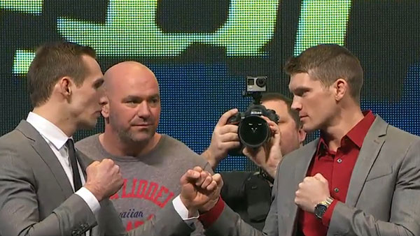 Rory MacDonald contre Stephen Thompson