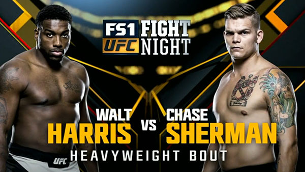 Walt Harris contre Chase Sherman