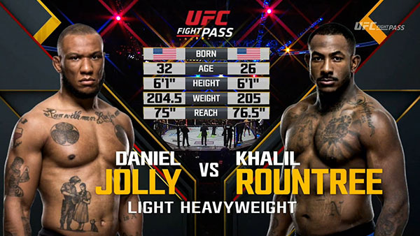 Daniel Jolly contre Khalil Rountree