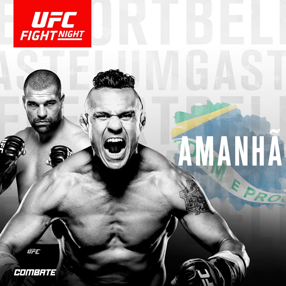 Poster/affiche UFC Fight Night 106 - Fortaleza