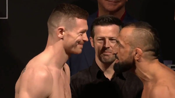 Joseph Duffy contre Reza Madadi