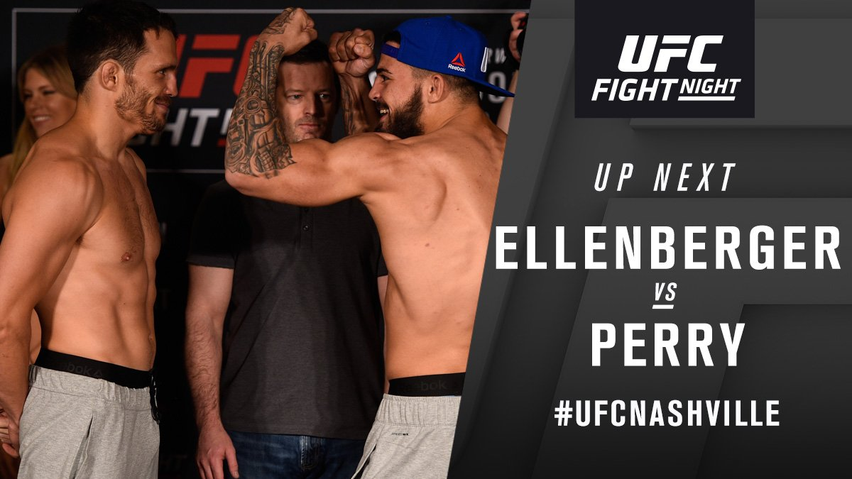 Jake Ellenberger contre Mike Perry