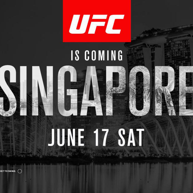 Poster/affiche UFC Fight Night 111 - Singapoure