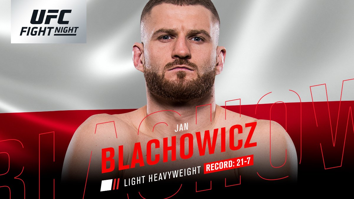 UFC Fight Night 136 - Jan Blachowicz contre Nikita Krylov