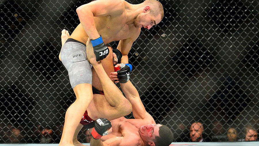 UFC Fight Night 138 - Nordine Taleb contre Sean Strickland