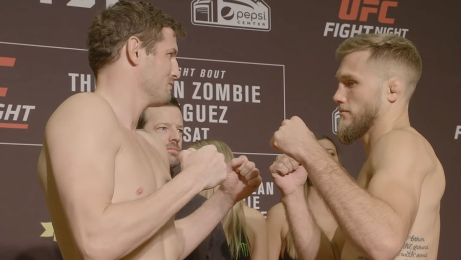 Chas Skelly contre Bobby Moffett