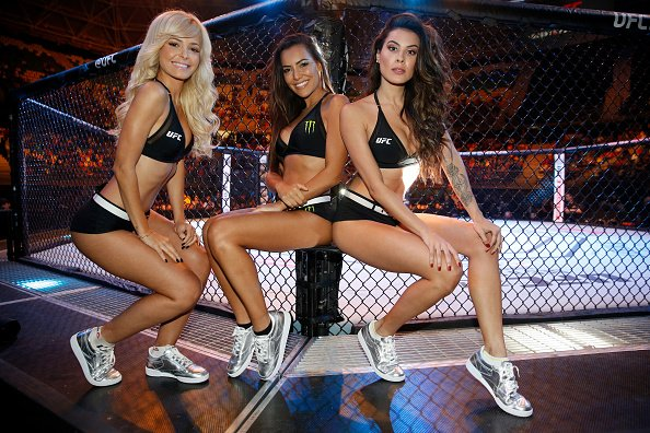 UFC Octagon girls Bueno Aires