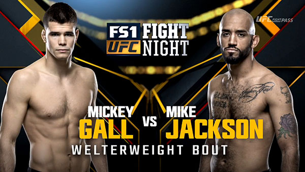 Mickey Gall contre Mike Jackson