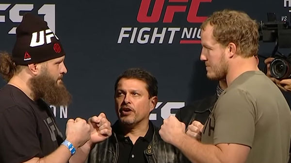 Roy Nelson contre Jared Rosholt