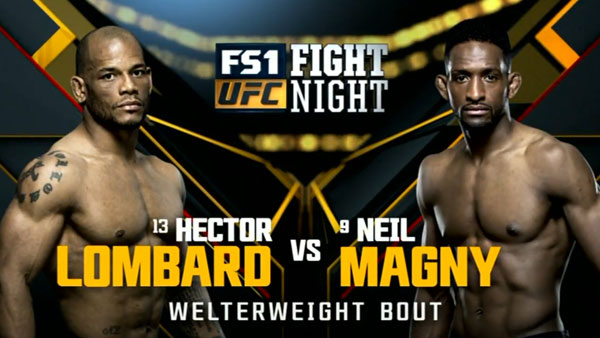 Hector Lombard contre Neil Magny