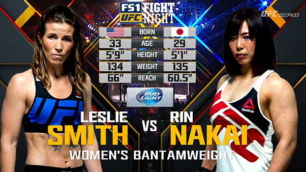 Leslie Smith contre Rin Nakai