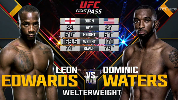 Leon Edwards contre Dominic Waters