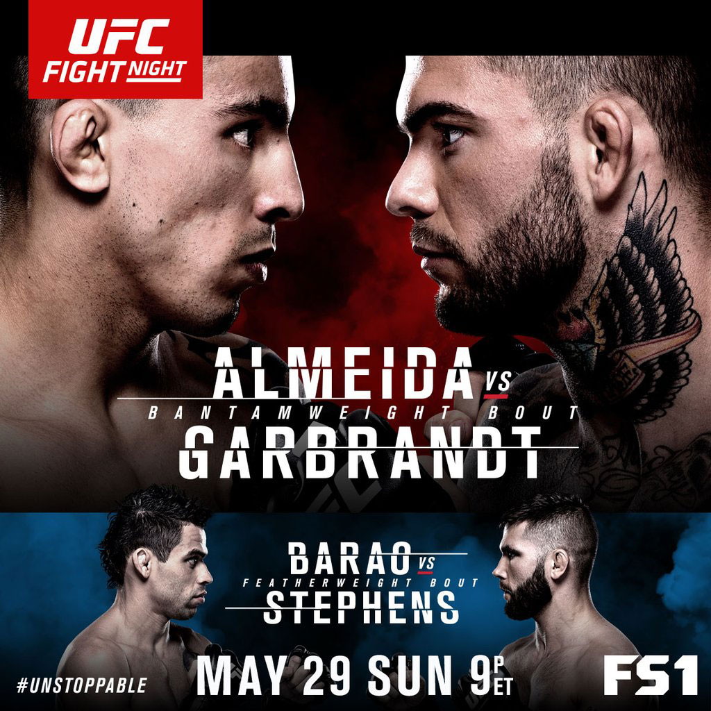 Poster/affiche UFC Fight Night 88