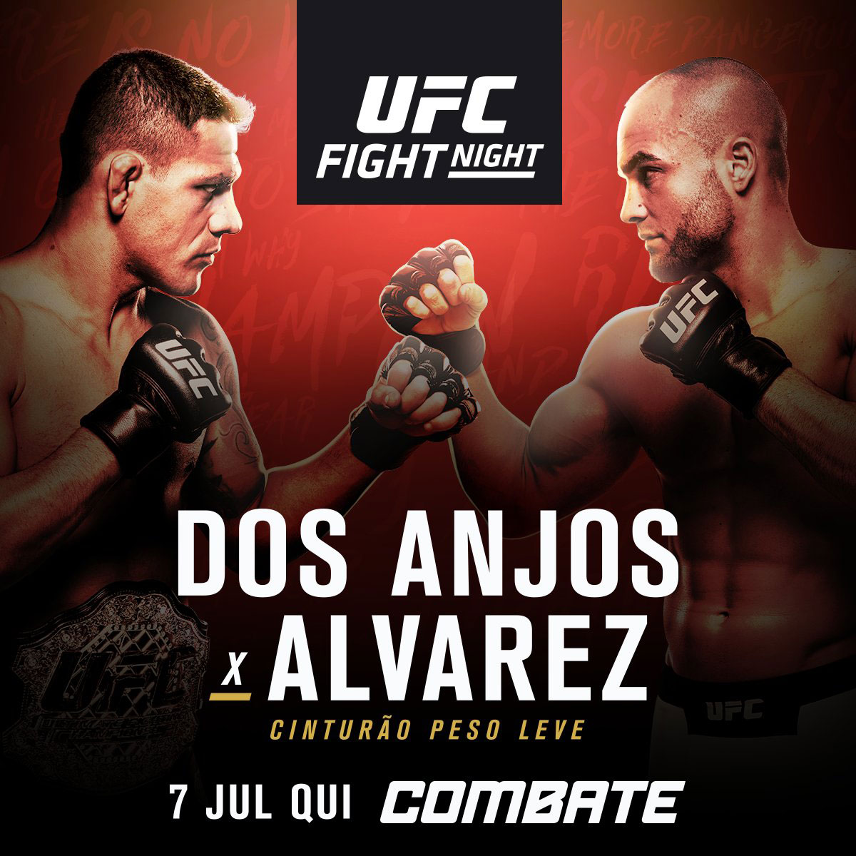 Poster/affiche UFC Fight Night 90