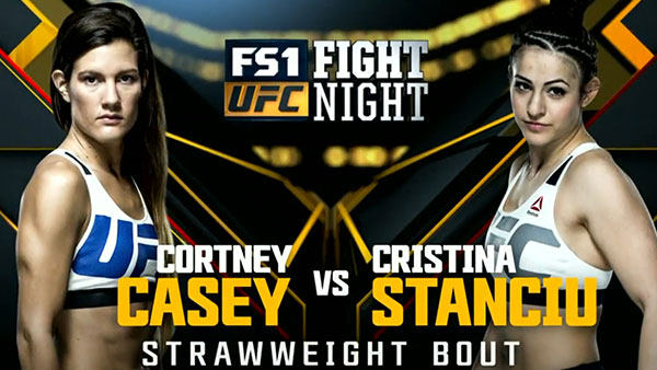 Cortney Casey contre Christina Stanciu