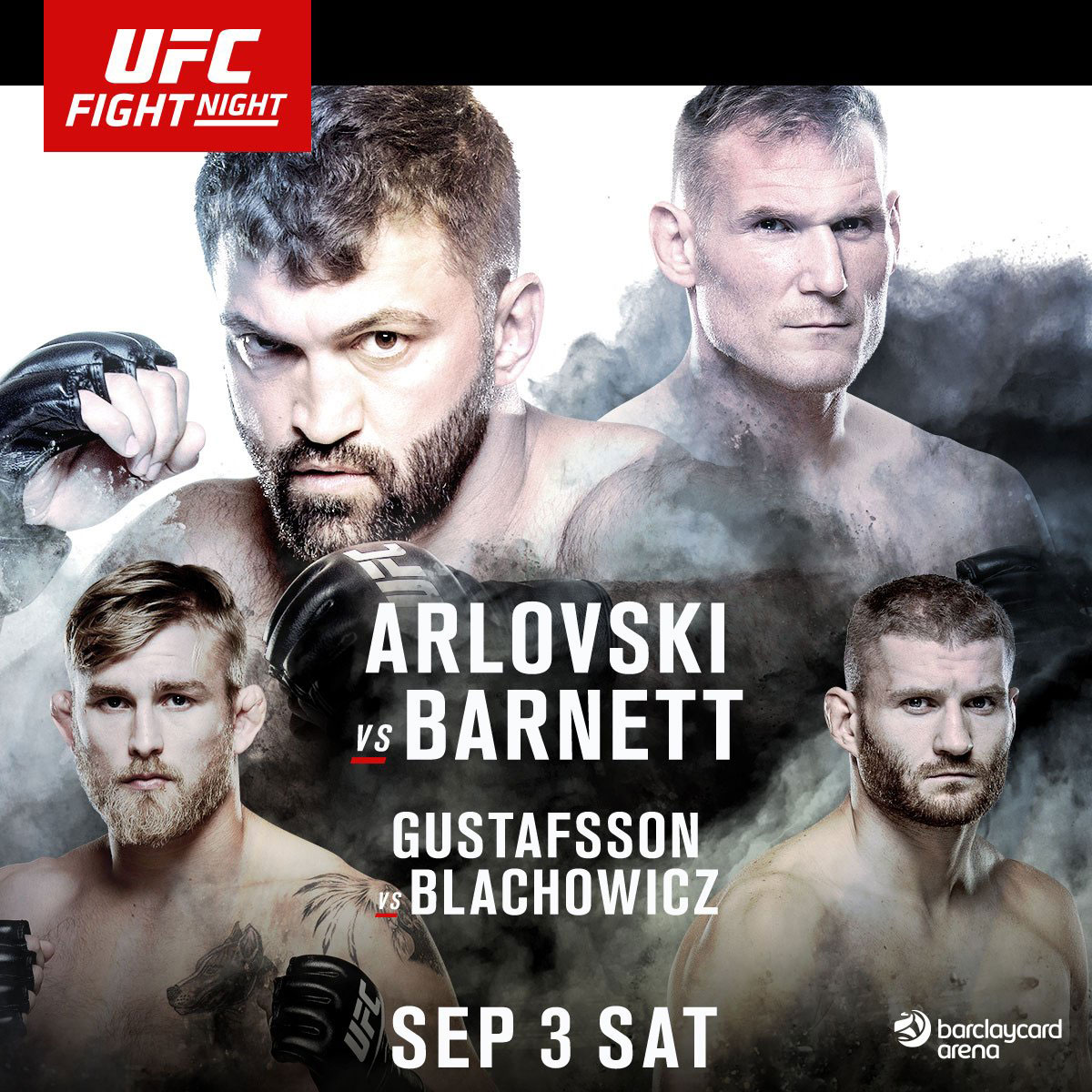 Poster/affiche UFC Fight Night 93