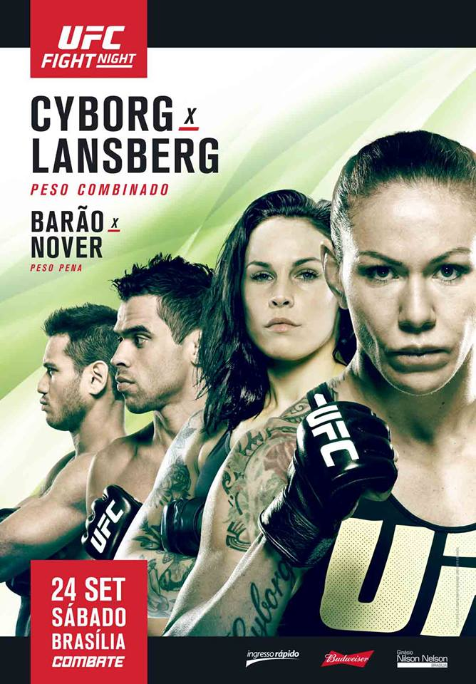 Poster/affiche UFC Fight Night 95