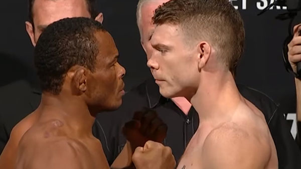 Francisco Trinaldo contre Paul Felder