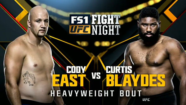 Cody East contre Curtis Blaydes