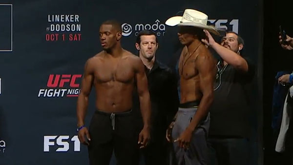 Will Brooks contre Alex Oliveira