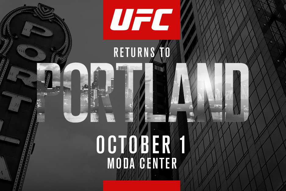 Poster/affiche UFC Fight Night 96 Portland