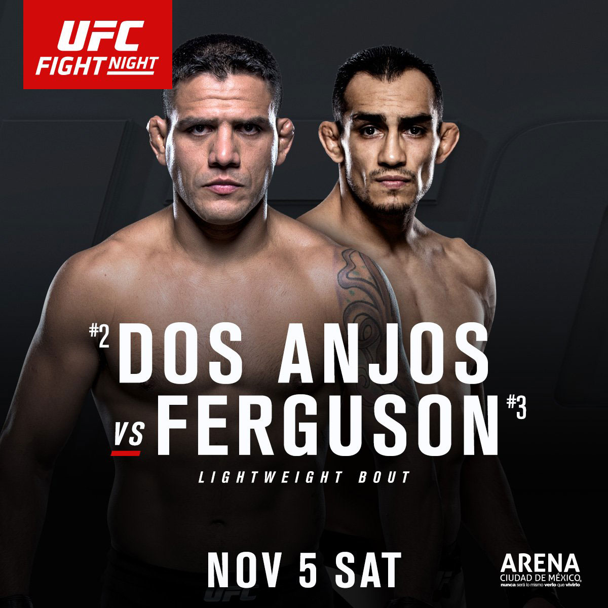 Poster/affiche UFC Fight Night 98 - Mexico