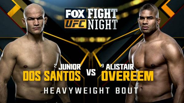 Junior Dos Santos vs. Alistair Overeem