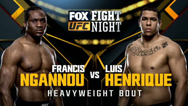 Luiz Henrique vs. Francis Ngannou