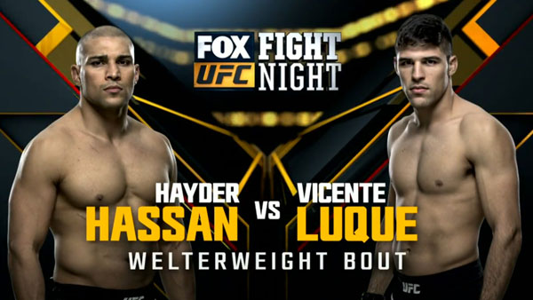 Hayder Hassan vs. Vicente Luque