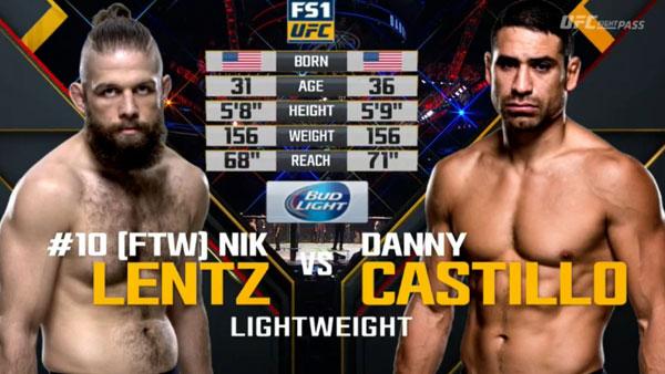 Victoire de Nik Lentz contre Danny Castillo