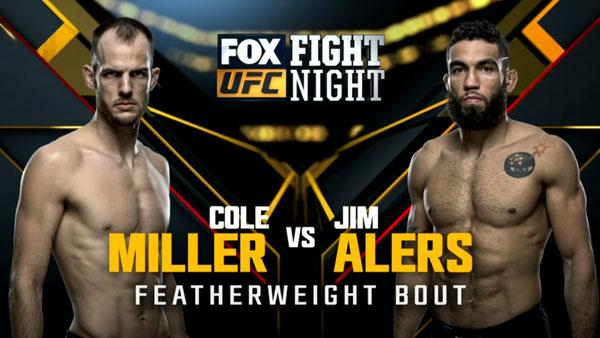 Cole Miller vs. Jim Alers