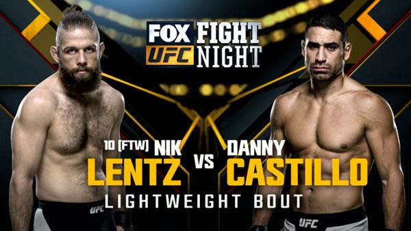 Nik Lentz vs. Danny Castillo
