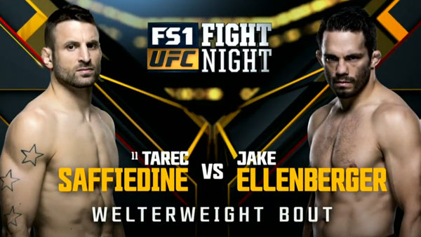 Tarec Saffiedine contre Jake Ellenberger