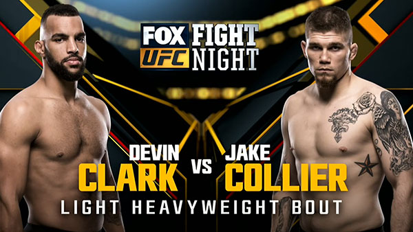 Devin Clark contre Jake Collier