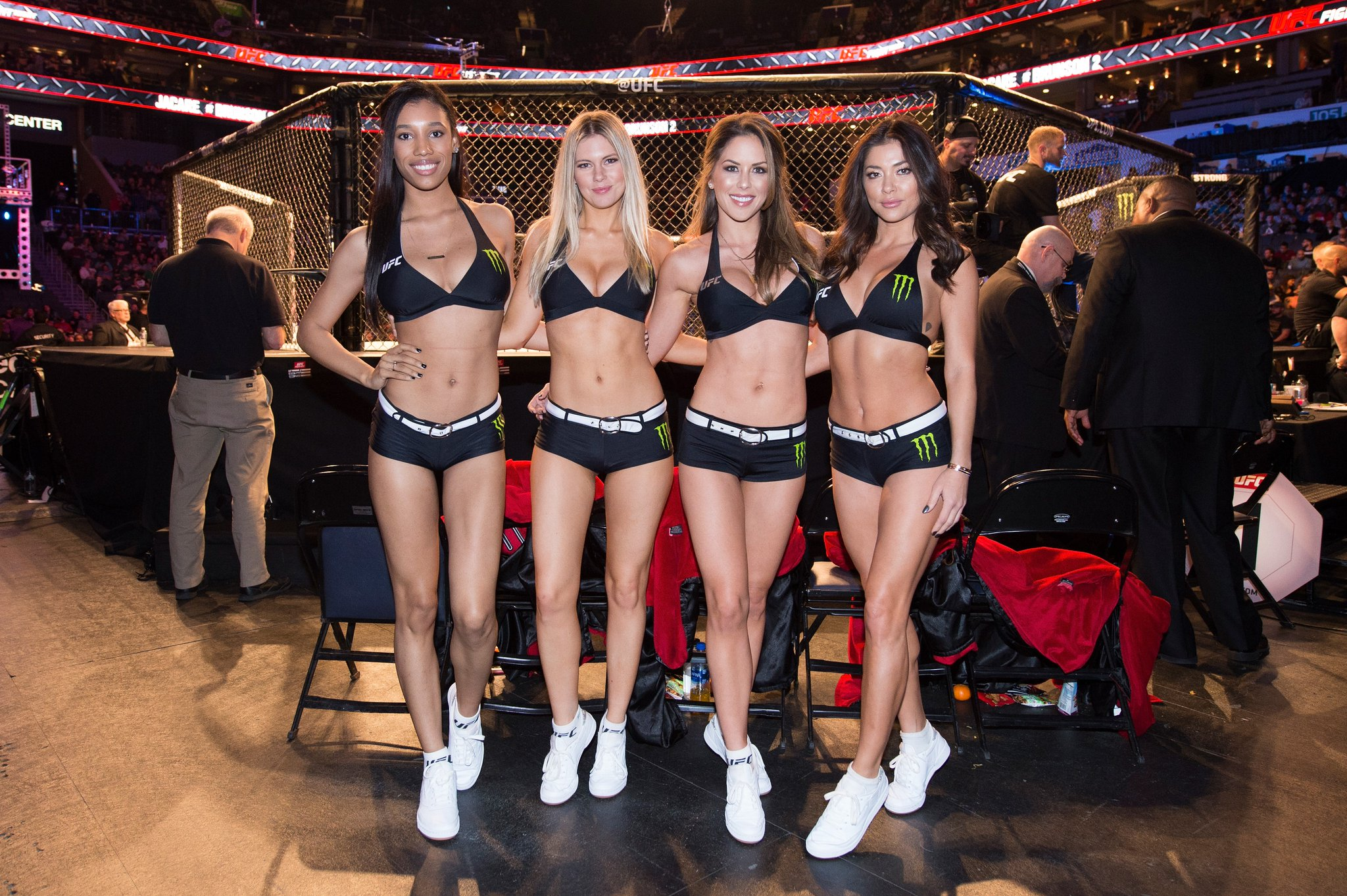 UFC Charlotte - Octagon Girls