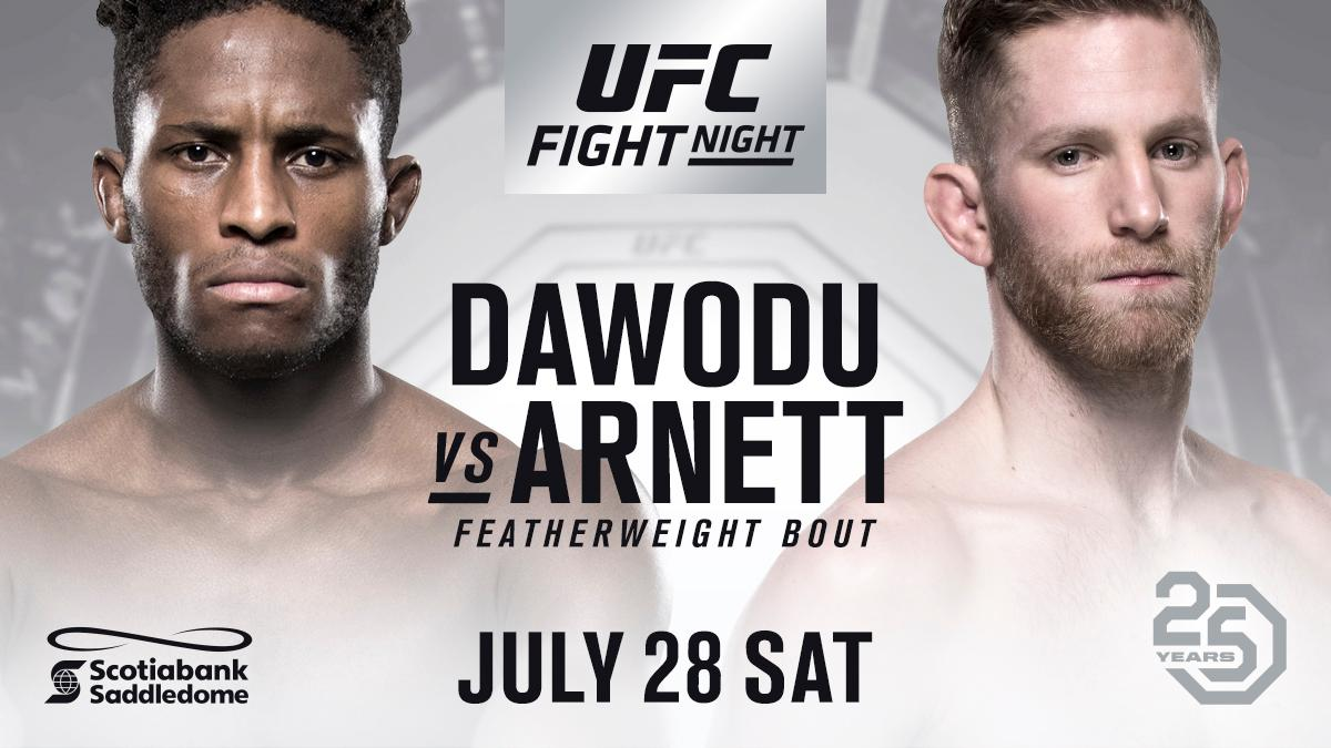 Poster/affiche UFC on Fox 30 - Calgary