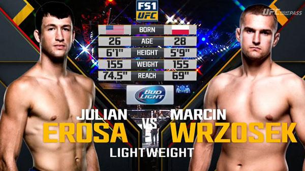 Julian Erosa vs. Marcin Wrzosek