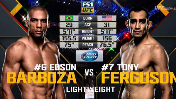 Tony Ferguson vs. Edson Barboza