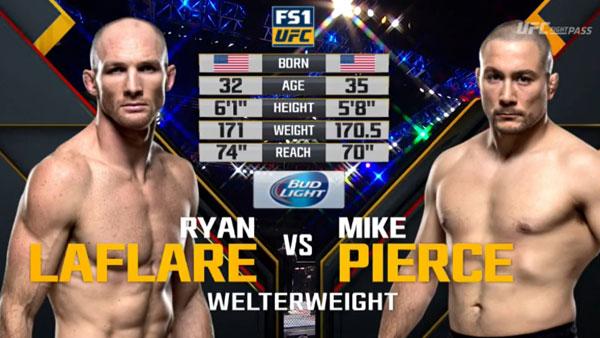 Ryan LaFlare vs. Mike Pierce