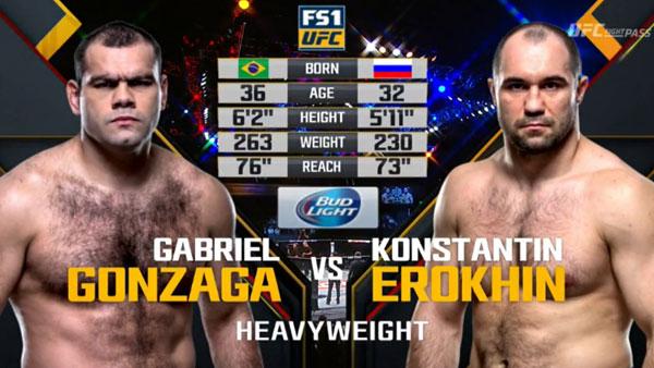Gabriel Gonzaga vs. Konstantin Erokhin