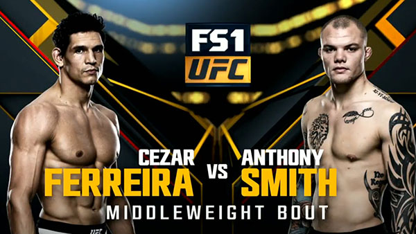 Cezar Ferreira contre Anthony Smith