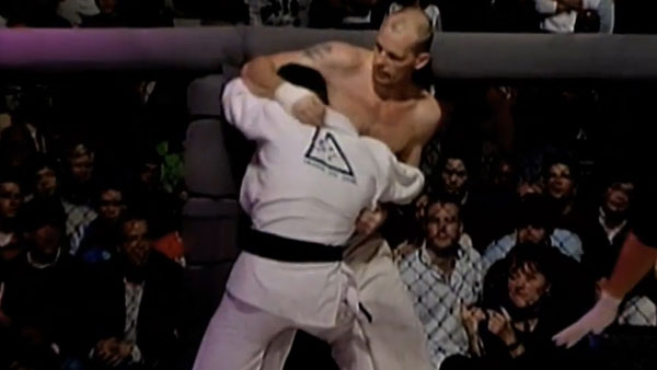 Royce Gracie contre Ken Shamrock