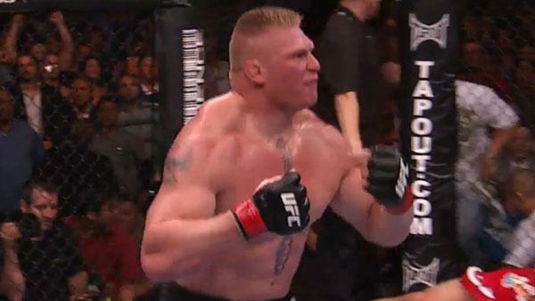 Brock Lesnar contre Frank Mir