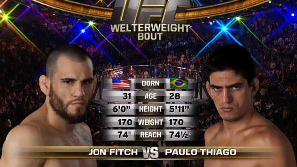 Jon Fitch contre Paulo Thiago