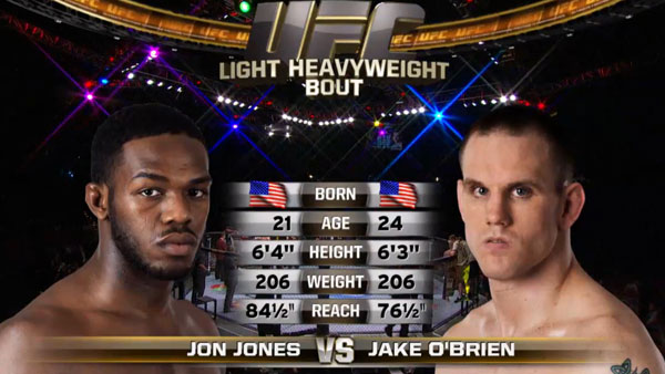Jon Jones contre Jake O'Brien