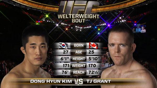 Dong Hyun Kim contre T.J. Grant