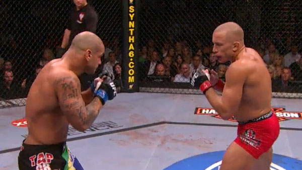 Georges St. Pierre contre Thiago Alves