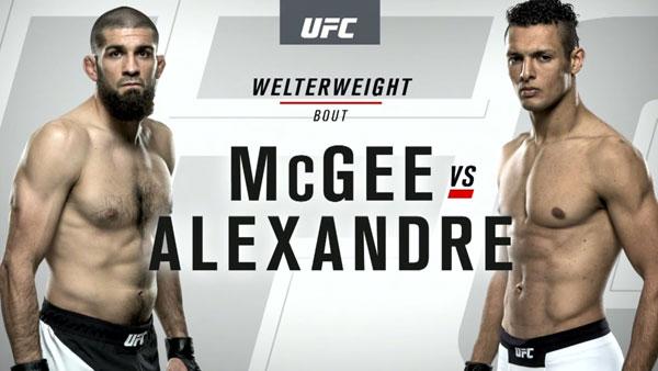 Marcio Alexandre Jr. vs. Court McGee